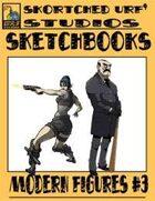 Skortched Urf' Studios Sketchbook: Modern figures #3
