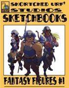 Skortched Urf' Studios Sketchbook: Fantasy Figures #1