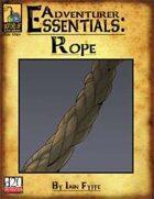 Adventurer Essentials: Rope