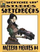 Skortched Urf' Studios Sketchbook: Modern figures #4
