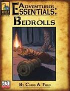 Adventurer Essentials: Bedrolls