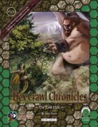 Hex Crawl Chronicles 6: The Troll Hills (Swords and Wizardry)