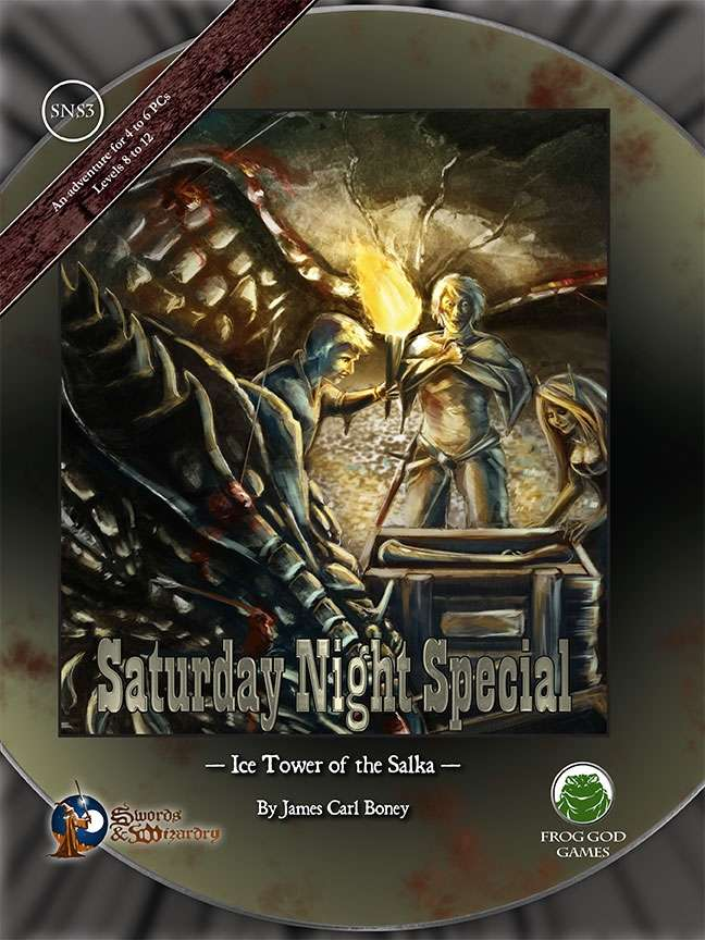 Cover of Ice Tower of the Salka