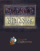 The Blight: Maladies Luxury Deck (Swords and Wizardry)