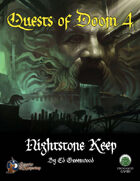 Quests of Doom 4: Nightstone Keep (S&W)
