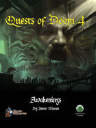 Quests of Doom 4: Awakenings (Swords and Wizardry)