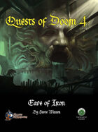 Quests of Doom 4: Cave of Iron (Swords and Wizardry)