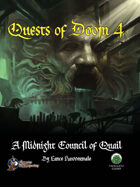 Quests of Doom 4: A Midnight Council of Quail (Swords and Wizardry)