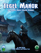 Tegel Manor: Bestiary (Swords and Wizardry)