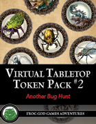 Virtual Tabletop Pack #2 Another Bug Hunt