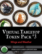 Virtual Tabletop Pack #3 Wings and Weather