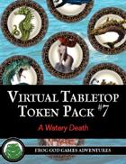 Virtual Tabletop Pack #7 A Watery Death