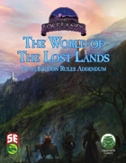 The World of The Lost Lands: Rules Addendum (5e)