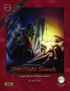 One Night Stands: Jungle Ruins of Madaro Shanti (Swords and Wizardry)