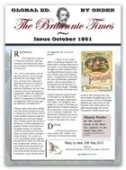 1851 AD Scramble for Empire Victorian Colonial wargames campaign newspapers