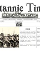 1855 AD Scramble for Empire Victorian Colonial wargames campaign newspapers