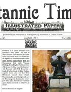 March 1857 Scramble for Empire Victorian Colonial wargames campaign newspaper