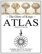 Glory of Kings ATLAS (18th century) 2nd edition
