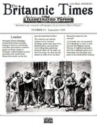 September 1858 Scramble for Empire Victorian Colonial wargames campaign newspaper