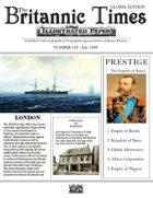 Scramble for Empire July 1859 Victorian Colonial wargames campaign newspaper