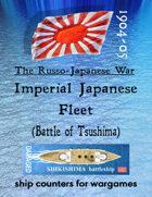 Russo-Japanese War fleet: The Imperial Japanese Navy (for the Battle of Tsushima, etc.)