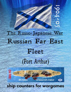 Russo-Japanese War fleet: Russian Far East Fleet (Port Arthur, etc.)