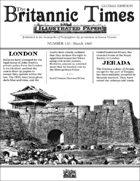 Scramble for Empire Victorian Colonial Steampunk wargames campaign newspaper March 1860