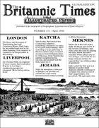Scramble for Empire Victorian Colonial Steampunk wargames campaign newspaper April 1860
