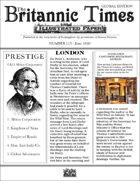 Scramble for Empire Victorian Colonial Steampunk wargames campaign newspaper June 1860