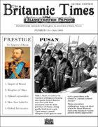 Scramble for Empire Victorian Colonial Steampunk wargames campaign newspaper July 1860