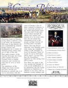 March 1704 Glory of Kings wargame campaign newspaper