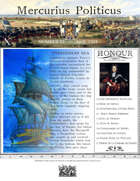 April 1704 Glory of Kings wargame campaign newspaper