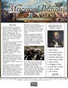 Glory of Kings May 1703 18th century wargames campaign newspaper