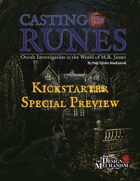Casting the Runes Preview