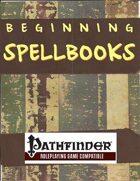 Beginning Spellbooks for PFRPG