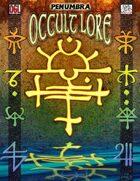 Occult Lore (Penumbra OGL 3E) [digital]
