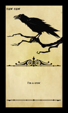 Caw Caw - Custom Card