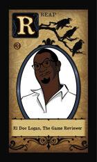 El Doc Logan, The Game Reviewer  - Custom Card