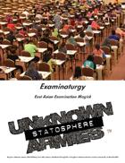 UA3: Examinaturgy