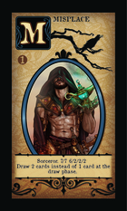 Sorceror. 7/7 6/2/2/2  Draw 2 Cards Instead Of 1 Card At The Draw Phase.  - Custom Card