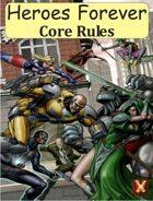 Heroes Forever RPG Core Book Bundle [BUNDLE]