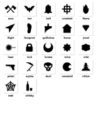 Scottish Media Lab - Mystery - 20+ PNG Icon Pack