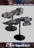 Black Sun Wars RPG, 2 Frigates Starships