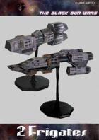 Black Sun Wars RPG, 2 Frigates Starships