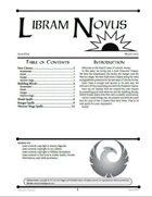Libram Novus #4