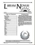 Libram Novus #1