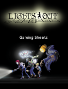 Lights Out - Gaming Sheets