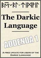 Darkic Language Addenda 1