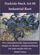 Darkisle Stock Art #8: Industrial Rust