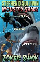Monster Shark - Zombie Shark Twofer